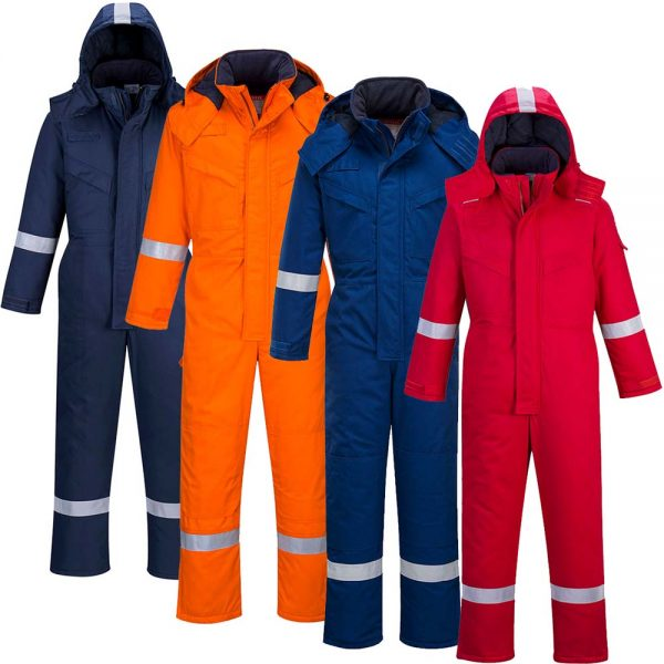 Portwest Flame Resistant Anti-Static Winter Coverall FR53
