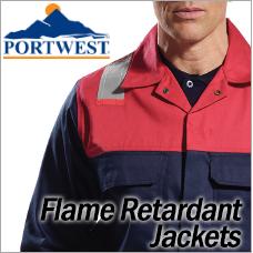 Portwest Flame Retardant Jackets