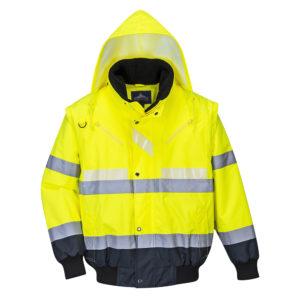 Portwest Glowtex Hi-Vis 3-in-1 Jacket G465