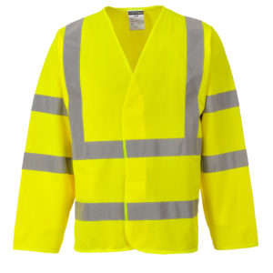 Portwest Hi-Vis 2 Band And Braces Jacket C473 Yellow