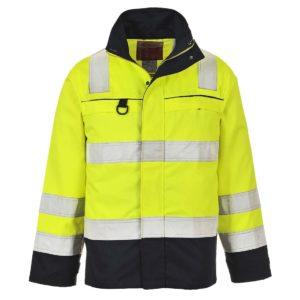 Portwest Hi-Vis Bizflame Multi-Norm FR Anti-Static Jacket FR61