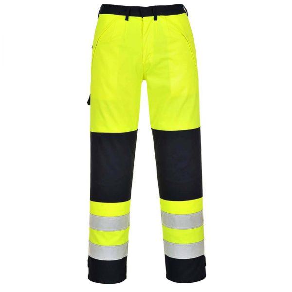 Portwest Hi-Vis Bizflame Multi-Norm FR Anti-Static Trousers FR62