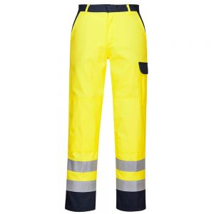 Portwest Hi-Vis Bizflame Pro Flame Resistant Anti-Static Trousers FR92