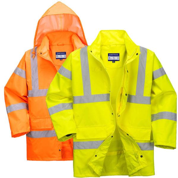 Portwest Hi-Vis Breathable Waterproof Jacket RT60