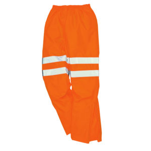 Portwest Hi-Vis Breathable Waterproof Trousers RT61
