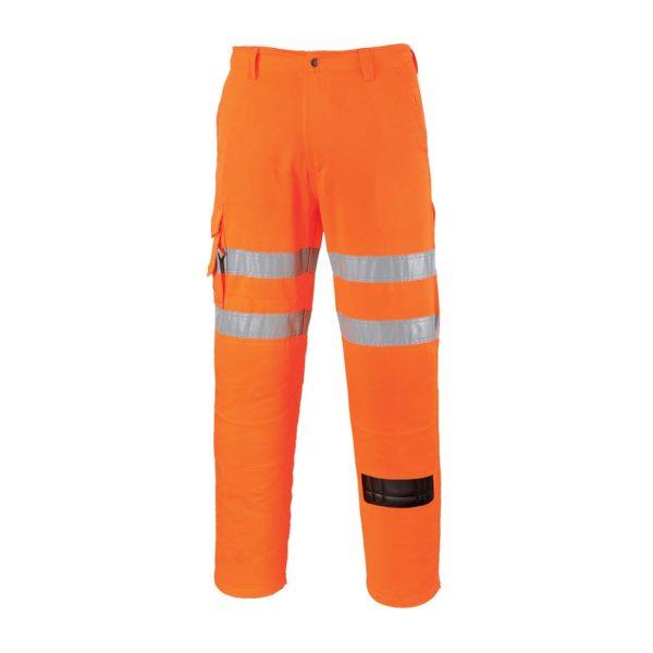 Portwest Hi-Vis Combat Trousers RT46