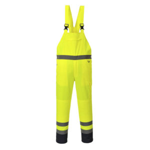 Portwest Hi-Vis Contrast Bib and Brace PJ52