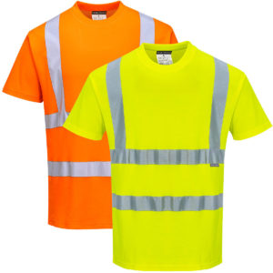 Portwest Hi-Vis Cotton Comfort T-Shirt S170