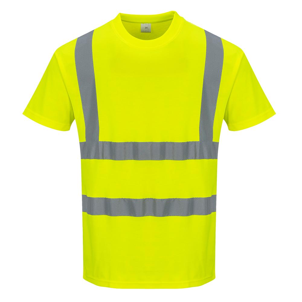 portwest hi vis cotton comfort t shirt s170