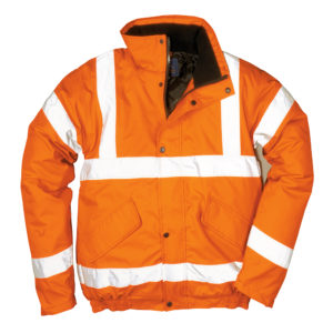 Portwest Hi-Vis GO/RT Bomber Jacket RT32
