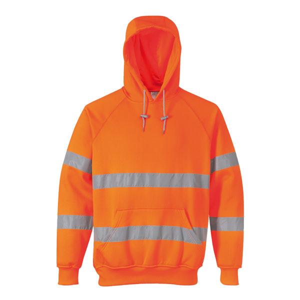 Hi-Vis Hooded Sweatshirt B304 Portwest