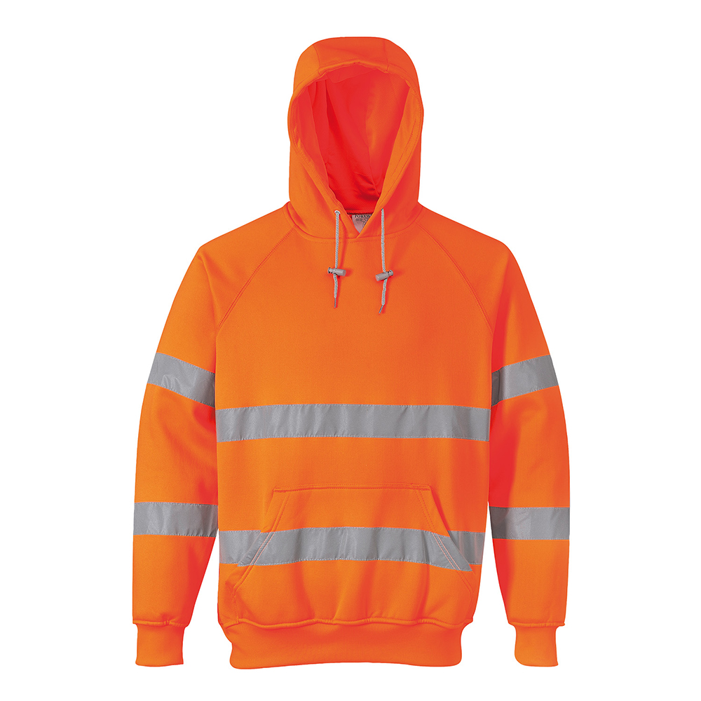 Hi-Vis Hooded Sweatshirt B304 Portwest