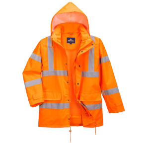 Portwest Hi-Vis Interactive Traffic Jacket RT63