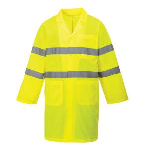 Portwest Hi-Vis Lab Coat C052