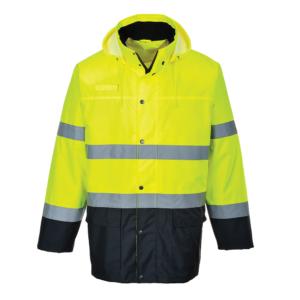 Portwest Hi-Vis Lite 2-Tone Traffic Jacket S166