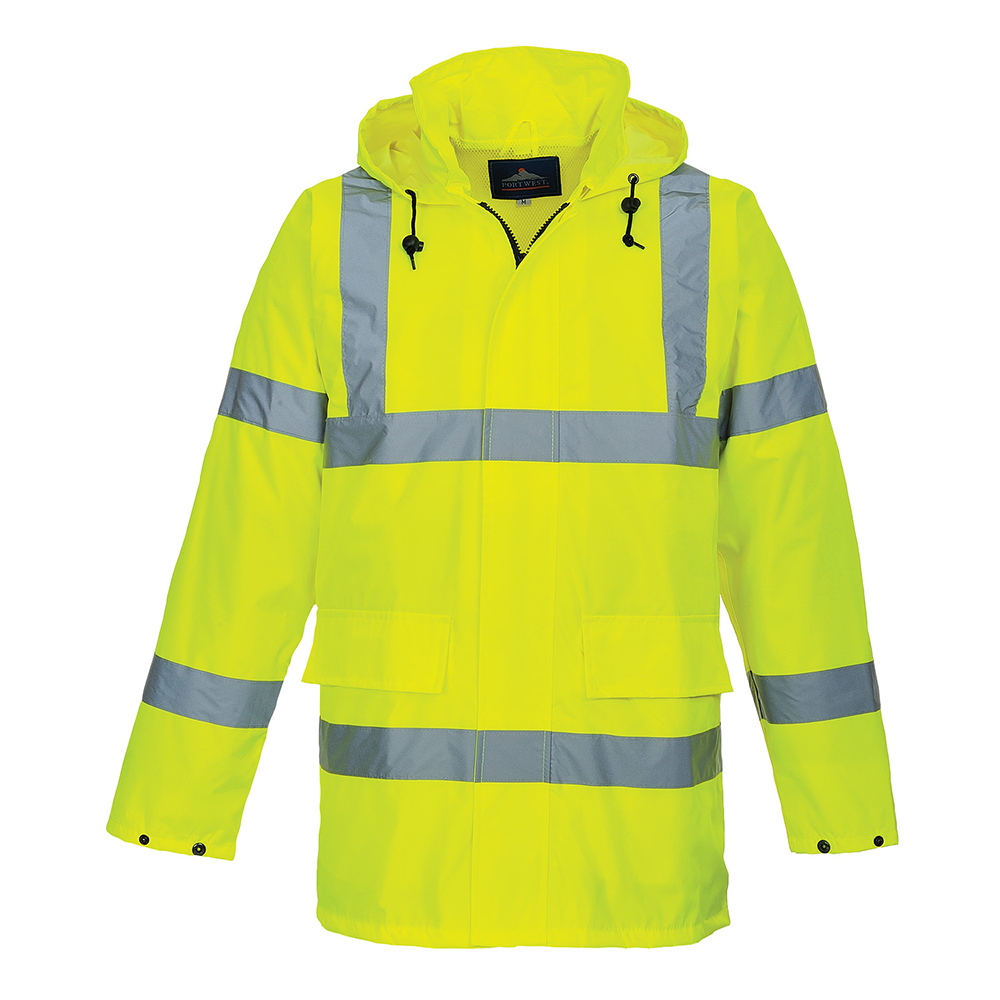 Portwest Hi-Vis Lite Traffic Jacket S160 Yellow