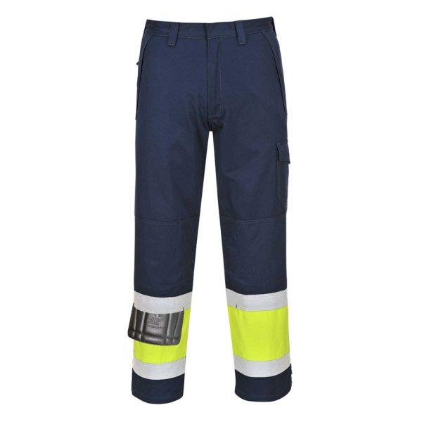 Portwest Hi-Vis Modaflame FR Anti-Static Trousers MV26