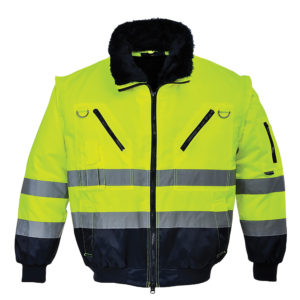 Portwest Hi-Vis Pilot Jacket PJ50 Yellow