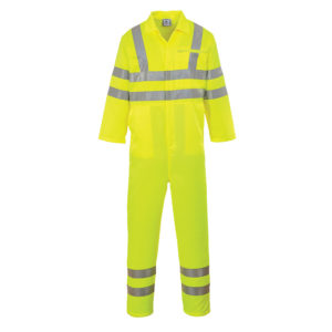 Portwest Hi-Vis Poly Cotton Overall E042