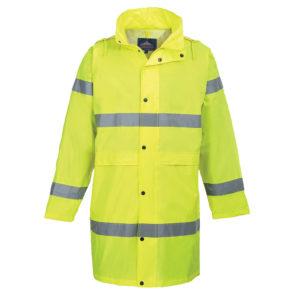 Portwest Hi-Vis Waterproof Rain Coat H442