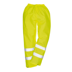 Portwest Hi-Vis Waterproof Rain Trousers H441 Yellow