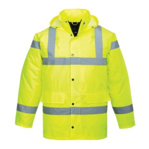 High Visibility Padded Jacket - Yellow S460 Portwest