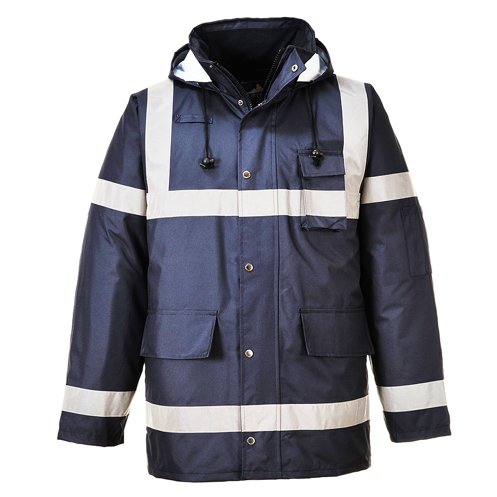 Portwest Iona Lite Waterproof Jacket S433 Navy Blue