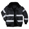 Portwest Iona Waterproof 3-in-1 Bomber Jacket S435 Black