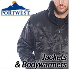 Portwest Jackets and Bodywarmers