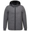 Portwest KX3 Neo Hooded Fleece T831 Grey Marl