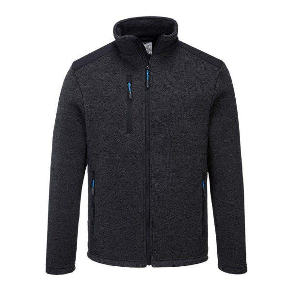 Portwest KX3 Venture Fleece Jacket T830 Grey Marl