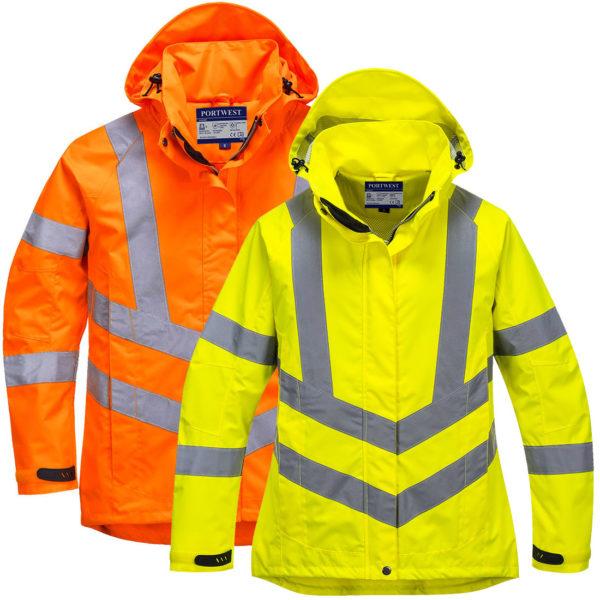 Portwest Ladies Hi-Vis Breathable Jacket LW70