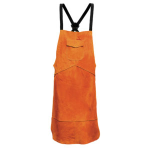 PORTWEST LEATHER WELDING APRON SW10