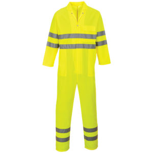 Portwest Lightweight Hi-Vis Coverall C485