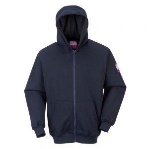 Portwest Modaflame Zip Front FR Hooded Sweatshirt FR81