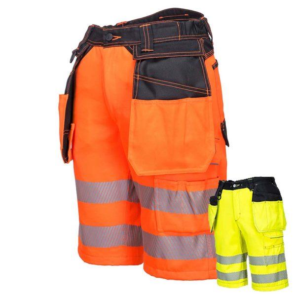 Portwest PW3 Hi-Vis Holster Shorts PW343