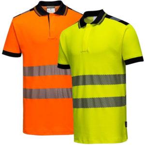 Portwest PW3 Hi-Vis Polo Shirt T180