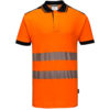 Portwest PW3 Hi-Vis Polo Shirt T180 Orange