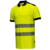 Portwest PW3 Hi-Vis Polo Shirt T180 Yellow