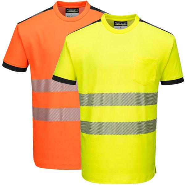 Portwest PW3 Hi-Vis T-Shirt T181