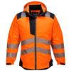 Portwest PW3 Hi-Vis Winter Jacket T400 Orange