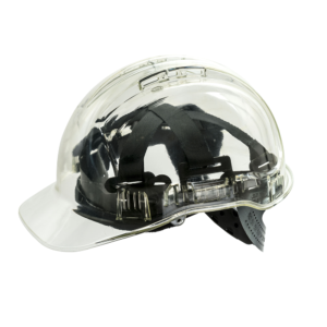 Portwest Peak View Translucent Vented Helmet PV50 Clear