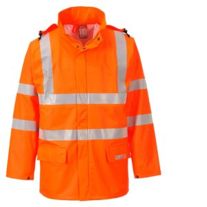 Portwest Sealtex Flame Resistant Waterproof Hi-Vis Jacket FR41