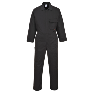 Portwest Standard Coverall Black