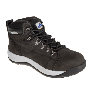 Portwest Steelite Mid Cut Nubuck Boot SB HRO FW31 Black
