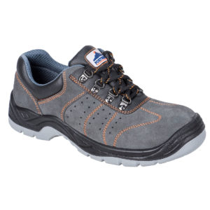 Portwest Steelite Perforated Trainer S1P FW02 Grey