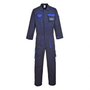 Portwest Texo Contrast Coverall TX15 Navy Blue