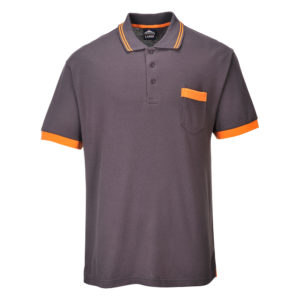 Portwest Texo Contrast Polo Shirt TX20 Grey