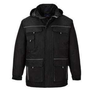 Portwest Texo Contrast Rain Jacket TX30 Black
