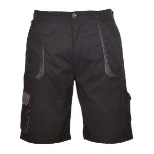 Portwest Texo Contrast Work Shorts TX14 Black